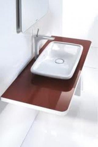 duravit puravida konsole 071c 800mm mit einem ausschnitt. Black Bedroom Furniture Sets. Home Design Ideas