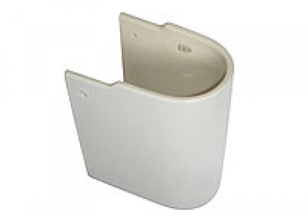 Ideal Standard Wandsäule für Waschtisch, E7113, Farbe: Weiß