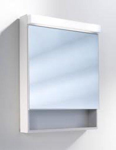 schneider spiegelschrank lowline 60 1 f led