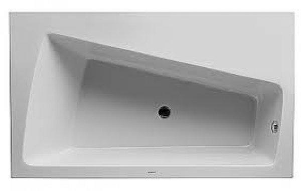 duravit badewanne paiova monolith 1700x1000mm ecke links weiss. Black Bedroom Furniture Sets. Home Design Ideas