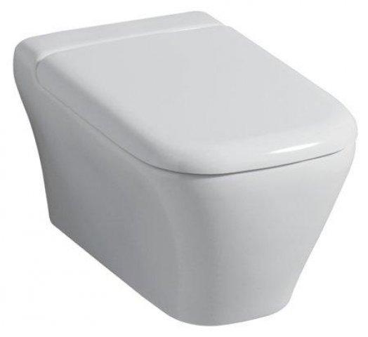 keramag myday wc sitz mit deckel mit absenkautomatik 575410. Black Bedroom Furniture Sets. Home Design Ideas