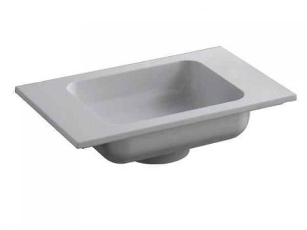 Keuco Edition 300 Waschtisch 30560, 525x131x320mm, ohne Hahnlochbohrung, weiß