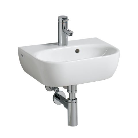 keramag 4u handwaschbecken 45 0x33 0cm 273445. Black Bedroom Furniture Sets. Home Design Ideas