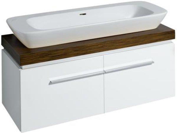 keramag silk waschtisch 120x47cm ohne hahnloch 121625. Black Bedroom Furniture Sets. Home Design Ideas