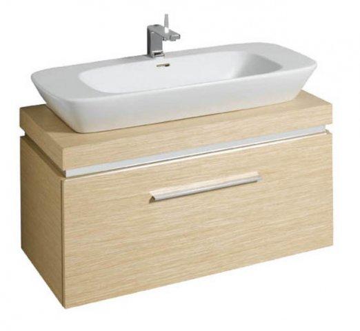 keramag silk waschtischunterschrank 816010 100x40x47cm. Black Bedroom Furniture Sets. Home Design Ideas