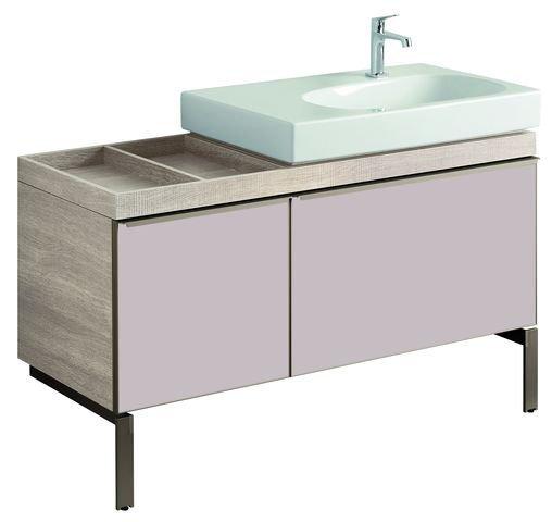 keramag citterio waschtischunterschrank 835520 ablagefl che links 118x55x50cm holzstruktur naturb. Black Bedroom Furniture Sets. Home Design Ideas