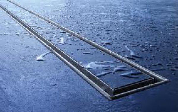 fliesenmulde tecedrainline plate f r gerade duschrinnen 601070 1000mm poliert. Black Bedroom Furniture Sets. Home Design Ideas