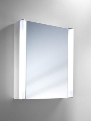 Schneider Spiegelschrank MOANAline, seitliche Beleuchtung 55/1/FL