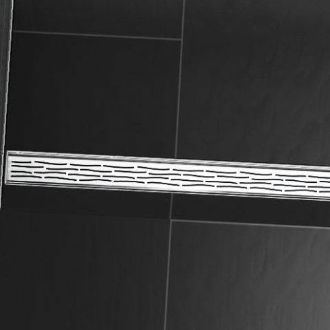 designrost tecedrainline organic f r gerade duschrinnen 6007 700mm. Black Bedroom Furniture Sets. Home Design Ideas
