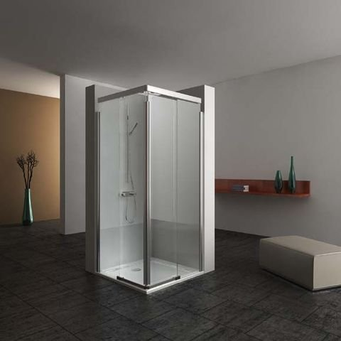 eckdusche 80 x 80 schiebet re preisvergleich die besten angebote online kaufen. Black Bedroom Furniture Sets. Home Design Ideas