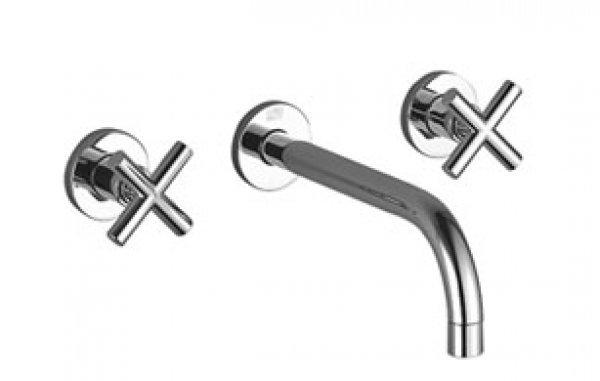Dornbracht Dusche Tara : Dornbracht Tara Wand Waschtischbatterie, Ausladung 240mm, Bausatz