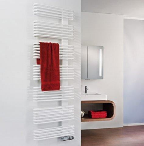 HSK Badheizkörper Premium Breite: 50cm, Höhe: 121,5cm, Farbe: Pergamon