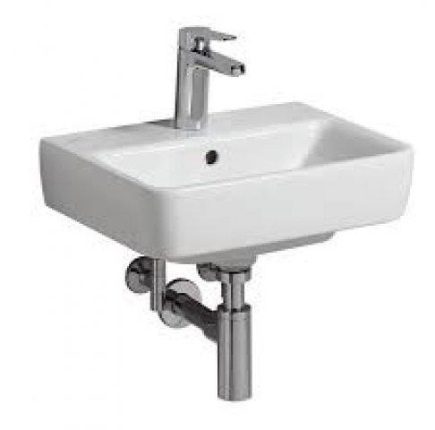 keramag renova nr 1 comprimo neu handwaschbecken 450x340 mm 276145. Black Bedroom Furniture Sets. Home Design Ideas