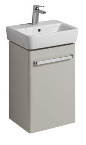 keramag handwaschbecken unterschrank renova nr 1 comprimo neu 399x604x310mm hellgrau matt. Black Bedroom Furniture Sets. Home Design Ideas