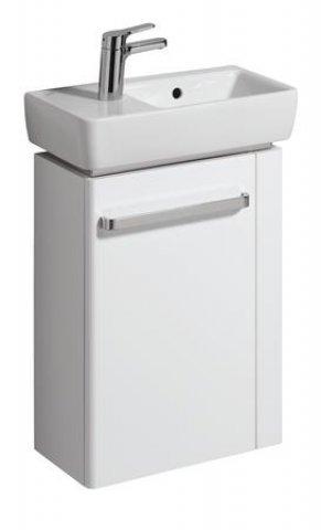 keramag handwaschbecken unterschrank renova nr 1 comprimo neu hh re 448x604x222mm wei matt. Black Bedroom Furniture Sets. Home Design Ideas