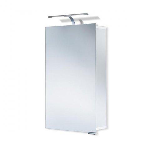 HSK ASP 300 LED Alu Spiegelschrank 45x75x17cm 1141045 links
