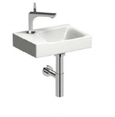 keramag xeno 2 handwaschbecken mit hahnloch links ohne. Black Bedroom Furniture Sets. Home Design Ideas