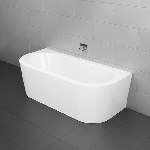 Bette Starlet I Silhouette, 165x75cm, Bathtub pre-wall version, 8300CWVVK