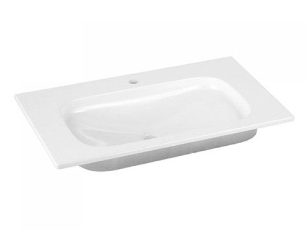 Keuco Royal Universe Keramik-Waschtisch 32761,805x16x495 mm, weiß, für 1-Loch Armaturen