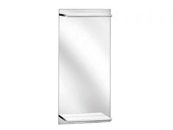 Keuco Edition 11 Gäste WC Lichtspiegel, mit integrierter, beleuchteter Ablage, 11198, 435 x 900 x 128 mm
