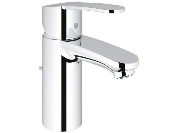 Grohe Eurostyle Cosmopolitan single-lever basin mixer, S-size with pop-up waste, for open water heaters