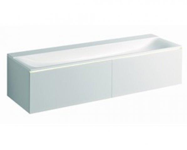 Keramag Xeno 2 Waschtischunterschrank 807760 1595x350x475mm Weiss Matt