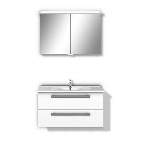 burgbad essento set spiegelschrank 940 mm. Black Bedroom Furniture Sets. Home Design Ideas