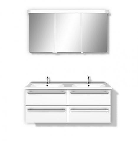 burgbad essento set doppelwaschtisch und waschtischunterschrank. Black Bedroom Furniture Sets. Home Design Ideas