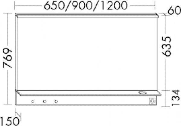 """Acryl Hocker F?r Dusche : burgbad GmbH """"Burgbad Eqio Leuchtspiegel mit horizontaler LED-Aufsatz"""