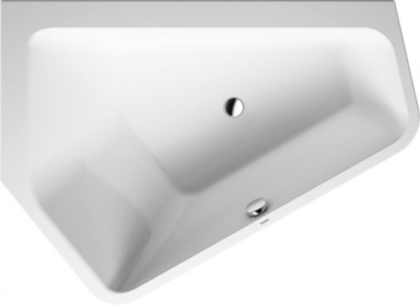 duravit badewanne paiova 1770x1300mm ecke links weiss. Black Bedroom Furniture Sets. Home Design Ideas
