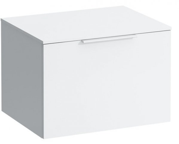 Laufen Kartell drawer unit with 12 mm plate, 595x455x415