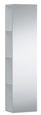 Laufen Kartell Half high cupboard with mirror front, both sides open, 300x200x1200
