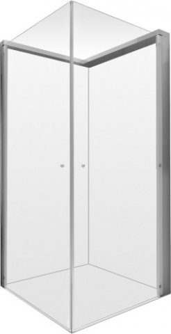 Duravit Open Space shower enclosure rectangular, 1000x900mm, fitting right
