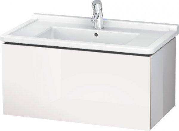 duravit l cube waschtischunterbau wandh ngend 1 auszug 820mm lc6165. Black Bedroom Furniture Sets. Home Design Ideas