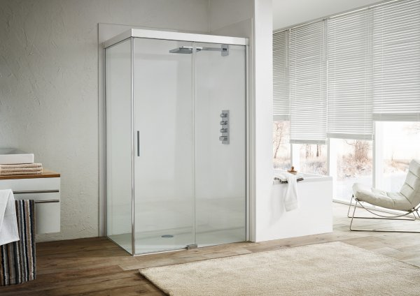 koralle s600plus schiebet r mit trennwand dstd2 120l links 1200mm. Black Bedroom Furniture Sets. Home Design Ideas
