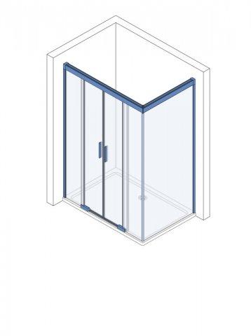 koralle s600plus ma anfertigung schiebet r mit trennwand dstd4 l. Black Bedroom Furniture Sets. Home Design Ideas