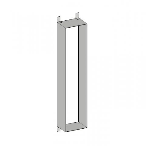 Emco asis module Mounting frame for Asis modules with 654mm