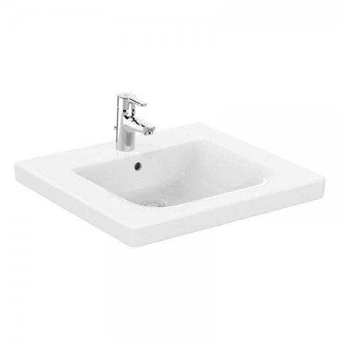 Ideal Standard Connect Freedom Waschtisch unterfahrbar 600 mm o. Überlauf, E5485, Farbe: Weiß mit Ideal Plus