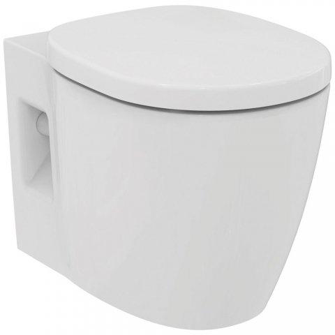 Ideal Standard Connect Freedom Wandtiefspülklosett Plus 6, E6075, Farbe: Weiß mit Ideal Plus