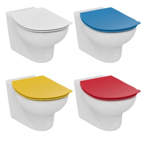 Ideal Standard Contour 21 Kinder WC Sitz Schools S4536, Farbe: Weiß