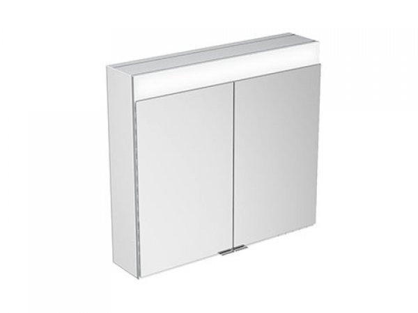 Keuco Edition 400 Spiegelschrank 21551 mit Spiegelheizung, Wandvorbau, 710x650x154 mm