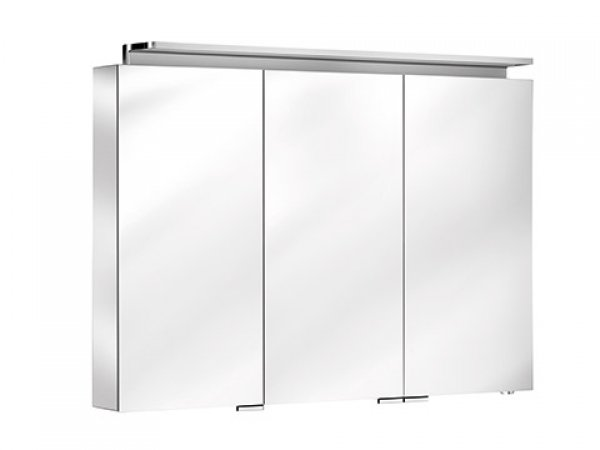 keuco royal l1 spiegelschrank 13604 3 dreht ren 1000mm. Black Bedroom Furniture Sets. Home Design Ideas