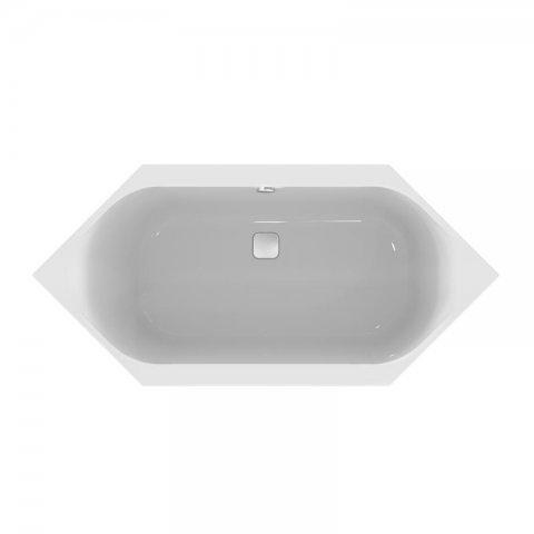 Ideal Standard Tonic II Sechseck-Badewanne 2000x1000mm, mit Ablauf/Füller E291701