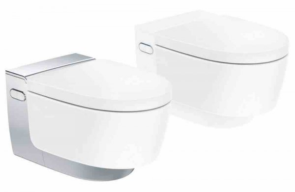 Geberit AquaClean Mera Classic Complete WC system, flush-mounted, wall-mounted W...