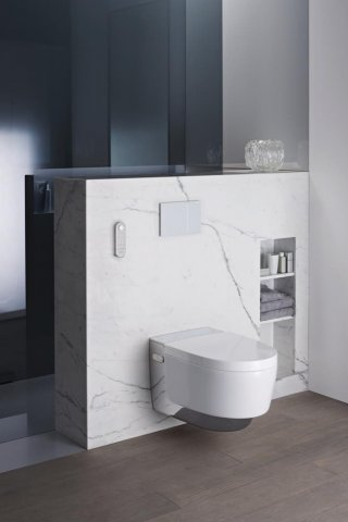 Geberit AquaClean Mera Classic complete WC system, UP, wall-hung WC