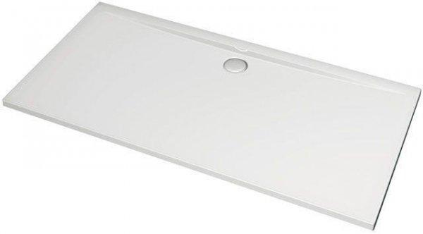 Ultra Flat Rechteck-Brausewanne 1400x800mm K5185, Farbe: Weiß mit IDEAL GRIP