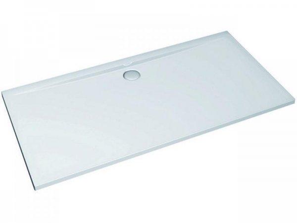 Ultra Flat Rechteck-Brausewanne 1400x800mm, bodeneben K1631, Farbe: Weiß mit IDEAL GRIP