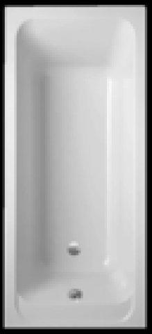 Villeroy & Boch Badewanne Acryl Rechteck Architectura Solo, UBA157ARA2V 1500x700mm, Farbe: weiß-alpin