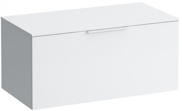 Laufen Kartell drawer unit with 12mm top, with cut-out, 895x455x415, 1 drawer
