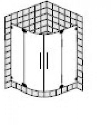 sprinz achat r plus ma anfertigung viertelkreisduschkabine ar25 4. Black Bedroom Furniture Sets. Home Design Ideas